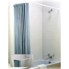 curved shower curtain image of master curved shower curtain rod double curved shower curtain rod brushed