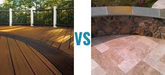 Composite Deck Vs Patios Compare The Pros Cons And Styles