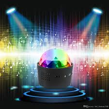 Mini Disco Ball Decorations 100 Usb Charge Lights Mini Portable Disco Light Sound Activated 98