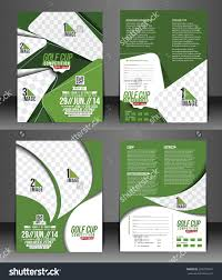 Brochure: Golf Tournament Brochure Template