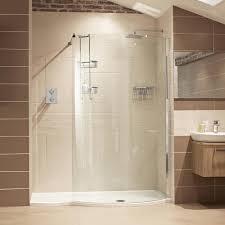 lumin8 1700mm colossus shower enclosure