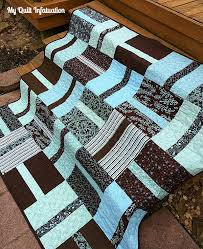 My Quilt Infatuation: NTT, a Finish, and an Honor & Since the robin's egg blue and chocolate brown are in such stark contrast,  there was no way for my thread to blend in, so I decided to quilt with a  wide ... Adamdwight.com