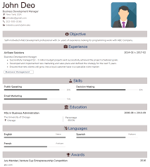 Basic Resume Template Is The Most Commonly Used Resume Template By