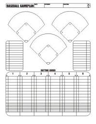 10 Player Baseball Position Chart 28 Images Of Little League Baseball Position Template