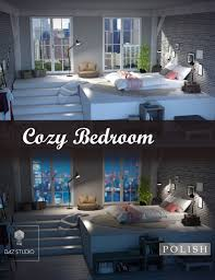 cozy bedroom. Cozy Bedroom A