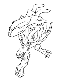 Small Picture Ben 10 Ultimate Alien Coloring Pages Online Coloring Coloring Pages