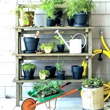 outdoor wood shelves outdoor wooden plant stands me