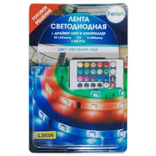 Светодиодные <b>ленты Feron</b> — купить на Яндекс.Маркете
