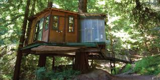 The 10 Most Beautiful Cliffside Hotels In The World  Post Ranch Treehouse Vacation California