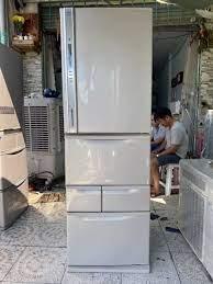 Tủ lạnh Toshiba GR-D43G(NS) Date 2010 6 cánh màu xám bạc
