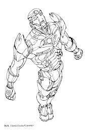 Coloriage De Iron Man A Imprimer Gratuit