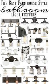 farmhouse lighting fixtures. Farmhouse Style Bathroom Light Fixtures Lighting