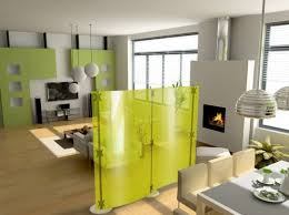 cool interior design ideas for small modern home with green room