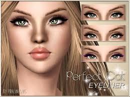 perfect cat eyeliner
