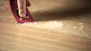 removing wax from laminate wood floors