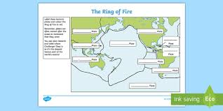 Earthquake diagram earthquake tectonic plates geology diagram poster teaching resource Ring Of Fire Tectonic Plates Map Worksheet And Answer Key