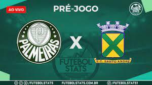 Pré-jogo – Tudo sobre Palmeiras x Santo André – Escalações, Histórico e  Como Assistir – Campeonato Paulista 2020 - Futebol Stats