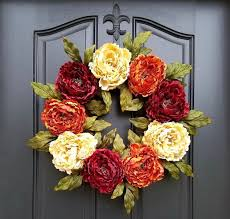 wreaths for front doorsHow to Create a DIY Thanksgiving Wreath for Your Front Door  Hometalk