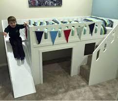 bunk bed with slides the best kids beds ever designed bunkbeds regarding boy slide remodel 19
