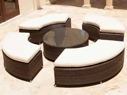 brown set patio source outdoor. Source Outdoor Furniture Circa Wicker Lounge Set Brown Patio O