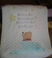 Pumpkin Hollow Primitives: Winnie the Pooh ~ Stamped Cross Stitch ... & Winnie the Pooh ~ Stamped Cross Stitch Baby Quilt Adamdwight.com