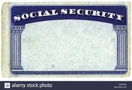 Card - Isolated Photo Stock Blank Social Background Over White Security American 32655088 Alamy