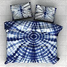 royal tie dye bedspread bedcover double
