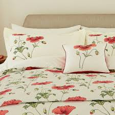 sanderson persian poppy pillowcase pair oos
