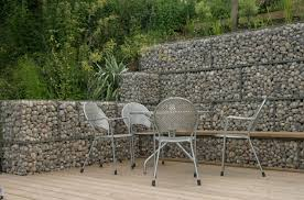 Small Picture Stone Wall Ideas Garden Wall Design and Cost Gabion1 UK