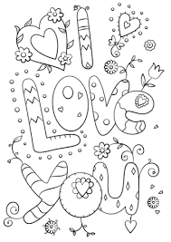 Free Printable I Love You Coloring Pages For Adults Best Printable
