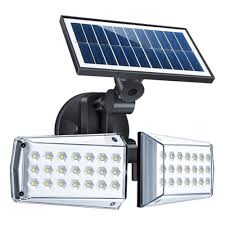 Star Wars Solar Lights 12w Adjustable Dual Head 42 Led Solar Microwave Induction Wall Light Outdoor Led Radar Sensor Waterproof Security Landscape Lamp