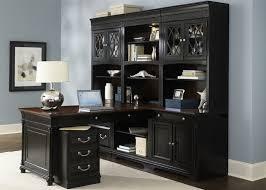 office desk for home. St Ives Executive Home Office Peninsula Set With Hutch In Two Tone Inside Furniture Design 16 Desk For