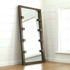 rustic wood framed mirrors. Rustic Wood Framed Mirrors Frame Floor Mirror Kings Brand White Finish Standing