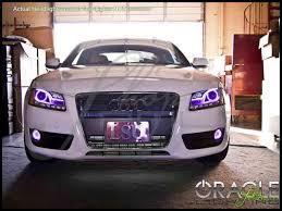 Audi A5 Led Fog Light Bulbs Oracle 07 14 Audi A5 Led Halo Rings Head Fog Lights Bulbs