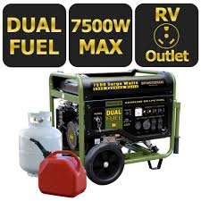 sportsman portable generators gen7500df 64 1000