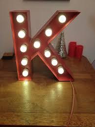 alphabetic marquee lights