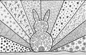 411 free coloring pages for adults that you can download and print. Pin On Bunnies