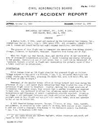 Page Cab Accident Report Continental Can Company Plane Crash Pdf 1
