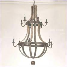 wood chandeliers modern chandelier fixer upper round wooden rustic metal intended for and best of wood and metal chandelier