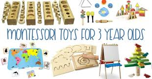 Montessori Gifts 3 Year Olds Love, Best for year olds, Toys Love - Natural Beach Living