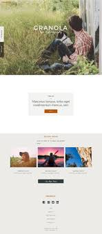 drag and drop website builder for pro photographers design granola d