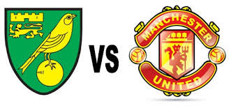 Hasil gambar untuk logo Norwich City Vs Manchester United