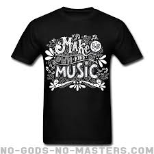 Make Your On Shirt Make Your Own Kind Of Music Punk Shirt No Gods No Masters