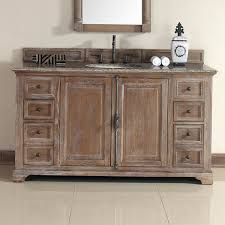 distressed bathroom vanity modern providence 60 inch cottage in 4 foot 1