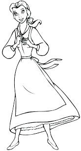Belle Coloring Pages Free Belle Princess Coloring Pages Free Baby