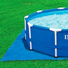 Intex Pool Ground Cloth for 8ft to 15ft Round Above Pools eBay