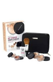 everything you need to take the first step into a new makeup routine from bareminerals get started plexion kit
