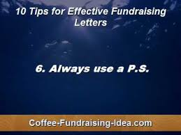 Fundraising Letters: Writing Effective Letters Fundraising Style ...