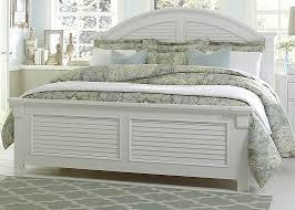 White Bed Coastal Look