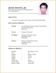 8 Job Application Cv Sample Pandora Squared